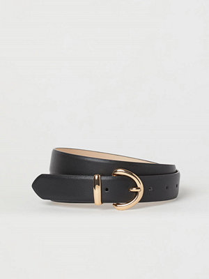 Bälten & skärp - H&M Skärp i läderimitation svart