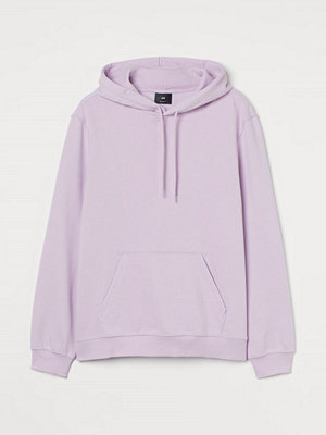 H&M Huvtröja Relaxed Fit lila