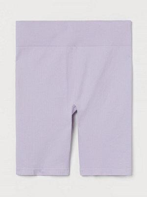 H&M H & M+ Träningscykelbyxa lila