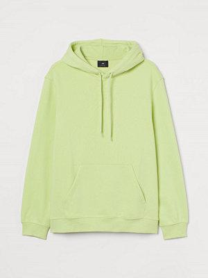 H&M Huvtröja Relaxed Fit grön