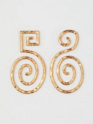 H&M Stora örhängen guld