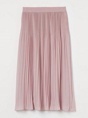 Kjolar - H&M Plisserad kjol rosa