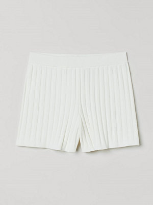 H&M Ribbade shorts vit