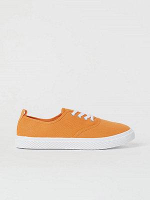 H&M Låga sneakers orange