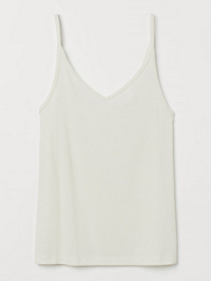 H&M Finstickat linne vit