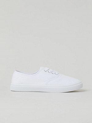 H&M Låga sneakers vit