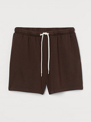 Shorts & kortbyxor - H&M Sweatshirtshorts brun