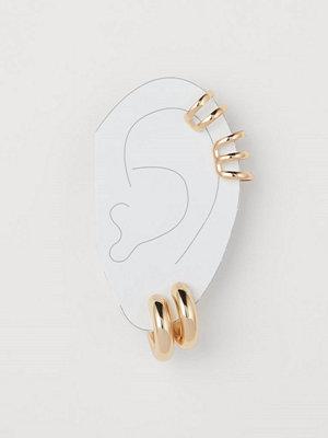 H&M Örhängen och earcuffs guld
