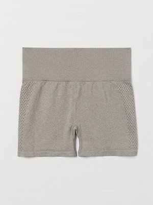 Shorts & kortbyxor - H&M Seamless hotpants High Waist grå