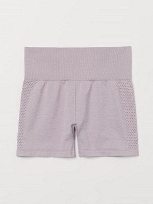 Shorts & kortbyxor - H&M Seamless hotpants High Waist lila