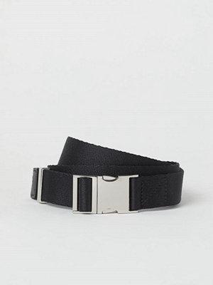 Bälten & skärp - H&M Textilskärp svart