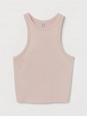 H&M Ribbad tanktop rosa