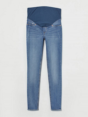 H&M MAMA Super Skinny Jeans blå