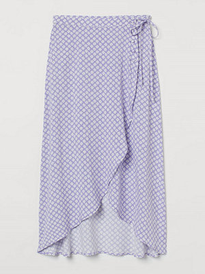 H&M Omlottkjol lila