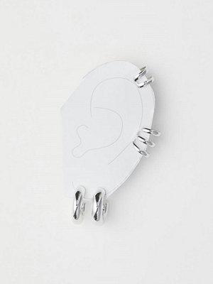 H&M Örhängen och earcuffs silver