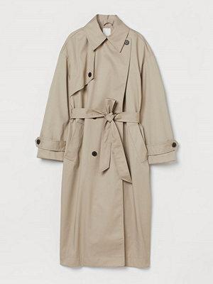 H&M Oversized trenchcoat brun