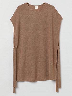 H&M Slipover med knytband beige