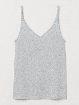 H&M Finstickat linne grå