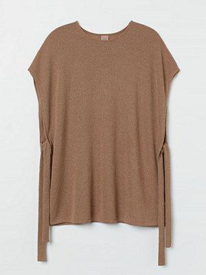 H&M H & M+ Slipover med knytband beige