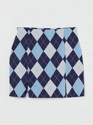 H&M Kort kjol blå