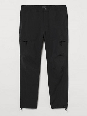 H&M Cargojoggers Regular Fit svart