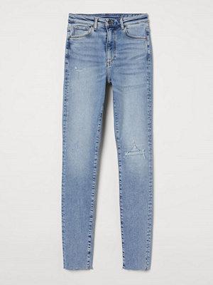 H&M Shaping High Jeans blå