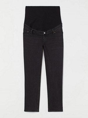 H&M MAMA Vintage Straight Jeans grå