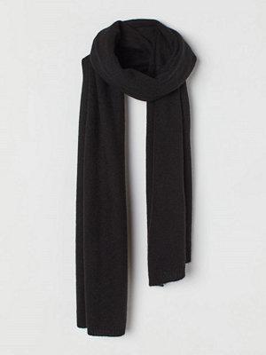 H&M Halsduk i kashmir svart