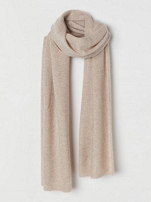Halsdukar & scarves - H&M Halsduk i kashmir beige