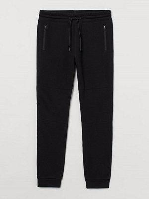 H&M Joggers Skinny Fit svart
