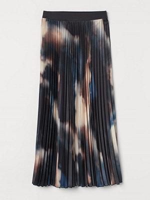 H&M Plisserad kjol grå