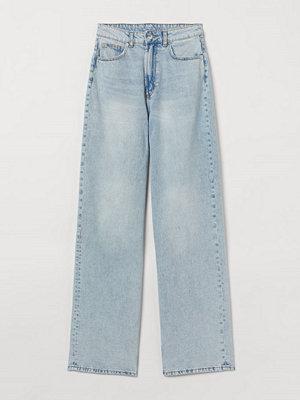 H&M 90's Baggy High Jeans blå