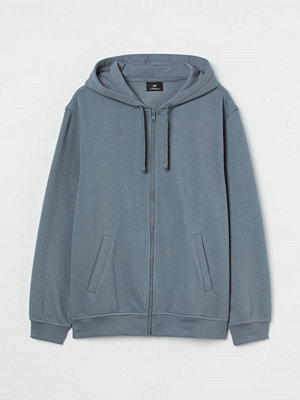 H&M Munkjacka Relaxed Fit grå