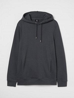 H&M Huvtröja Regular Fit grå