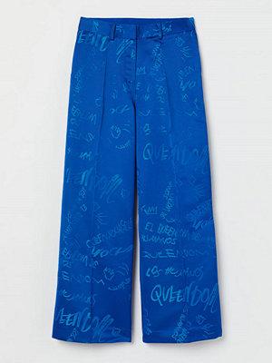 H&M byxor Oversized byxa blå