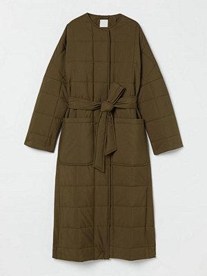 H&M Quiltad kappa grön