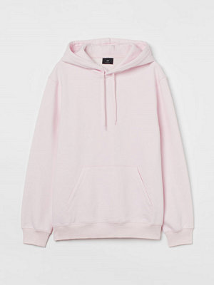 H&M Huvtröja Relaxed Fit rosa