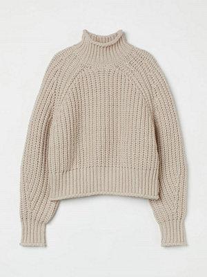 H&M Stickad tröja beige