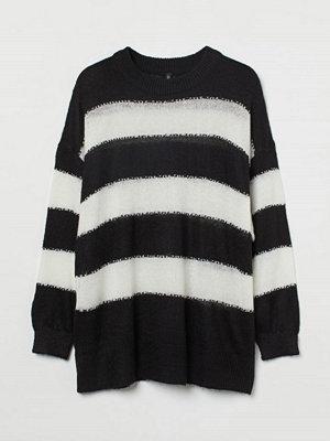H&M H & M+ Stickad tröja vit