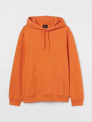 H&M Huvtröja Relaxed Fit orange