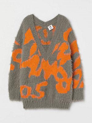 H&M Oversized tröja grå