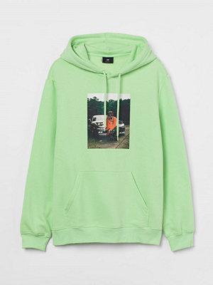 H&M Huvtröja grön