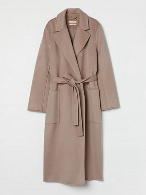 H&M Kappa i ull brun