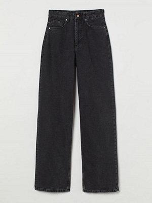 H&M 90's Baggy High Jeans svart