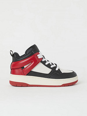 H&M Ankelhöga sneakers röd