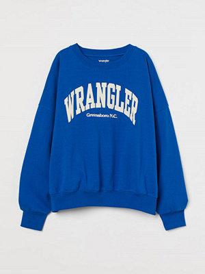 H&M Relaxed sweatshirt blå