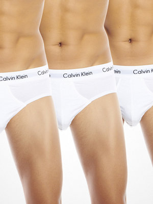 Kalsonger - Calvin Klein 3-pack Hip Brief White