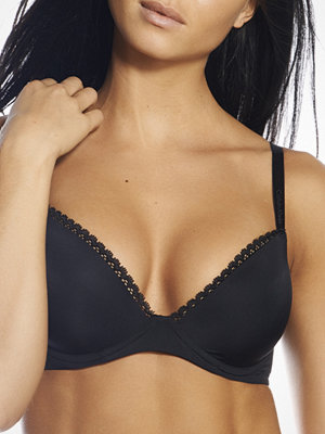 Calvin Klein Seductive Comfort Customized Bra Black