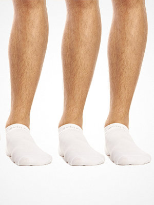 Calvin Klein 3-pack Coolmax Low Sock White