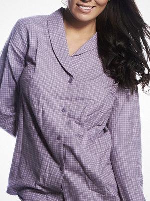Pyjamas & myskläder - Calvin Klein Pyjamas Shirt Gwendolyn Check Lilac